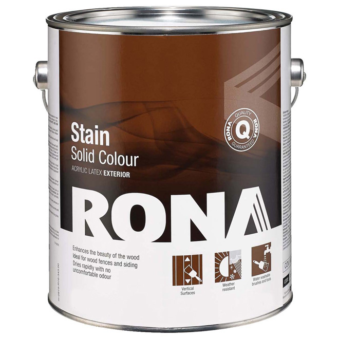 "Stain - ""Solid Finish"" Exterior Stain"