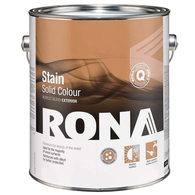 "Stain - ""Solid Finish"" Exterior Hybrid Stain"