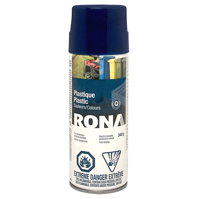 Spray Paint for Plastic 340g - Navy Blue