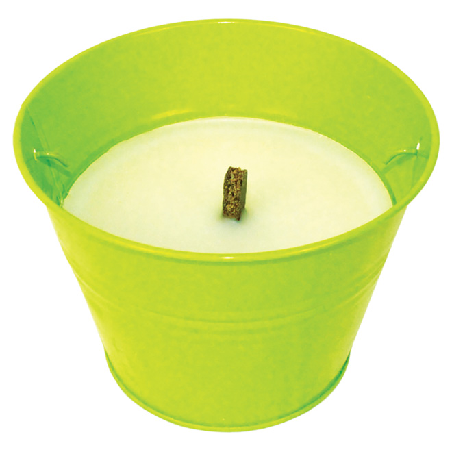 Citronella Candle in a Bucket - 6""