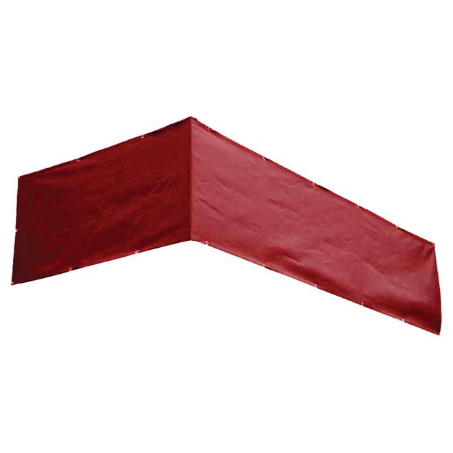 toile pour balcon intimit 177 rouge rona. Black Bedroom Furniture Sets. Home Design Ideas