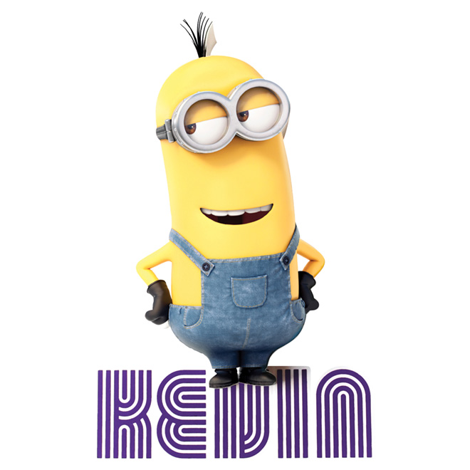"""Minion Kevin"" 3D Night Light"