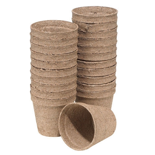 Pots - 3-In. Biodegradable Plantable Pots