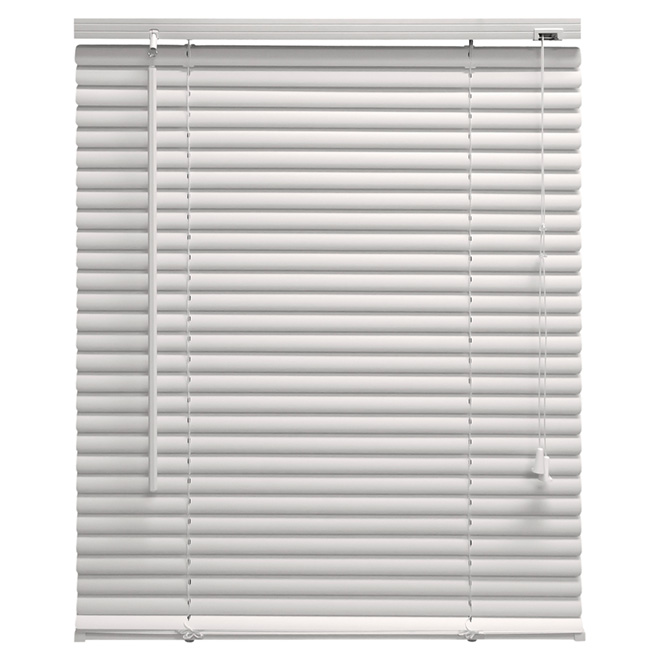 "Horizontal PVC Blind - White - 24"" x 64"""