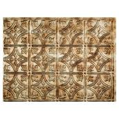 Backsplash Panel - Traditional - PVC - Bronze