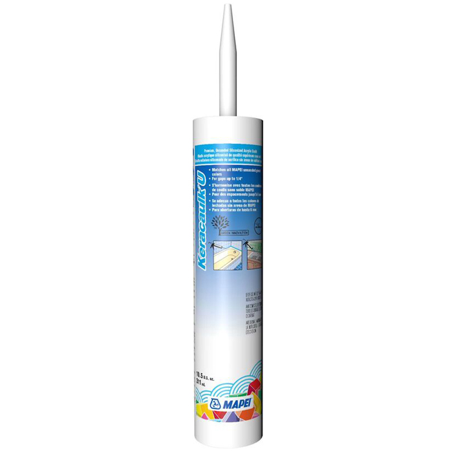 """Keracaulk U"" Unsanded Acrylic Caulk 311ml - Bone"