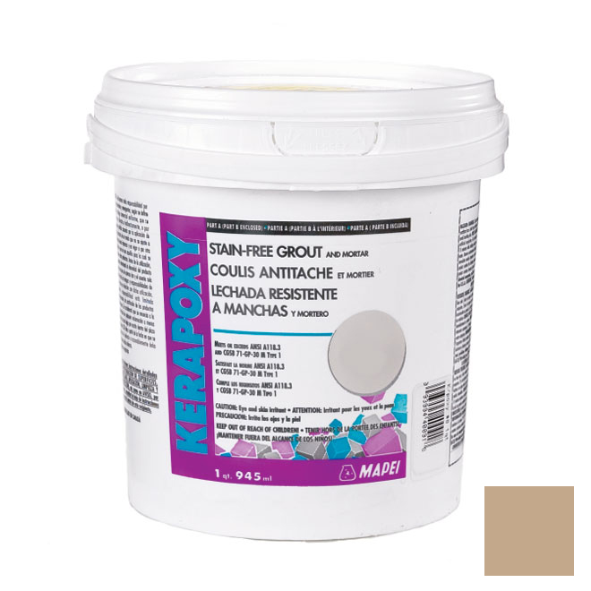 """Kerapoxy"" Stain-Free Grout and Mortar 945ml - Sand"