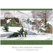 Assorted Christmas Cards - English - 16 Pack