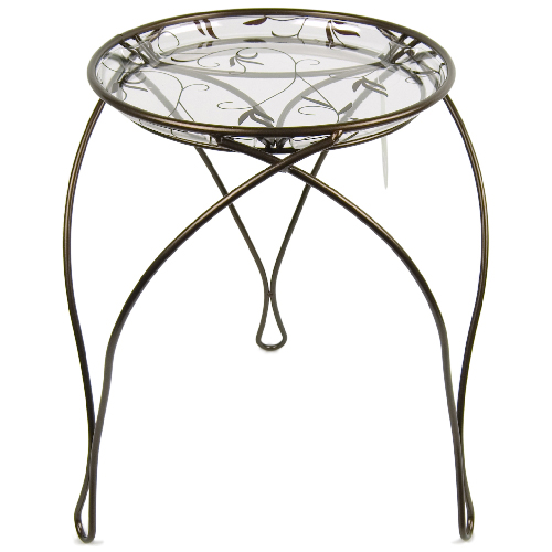 support pour plante elegance rona. Black Bedroom Furniture Sets. Home Design Ideas