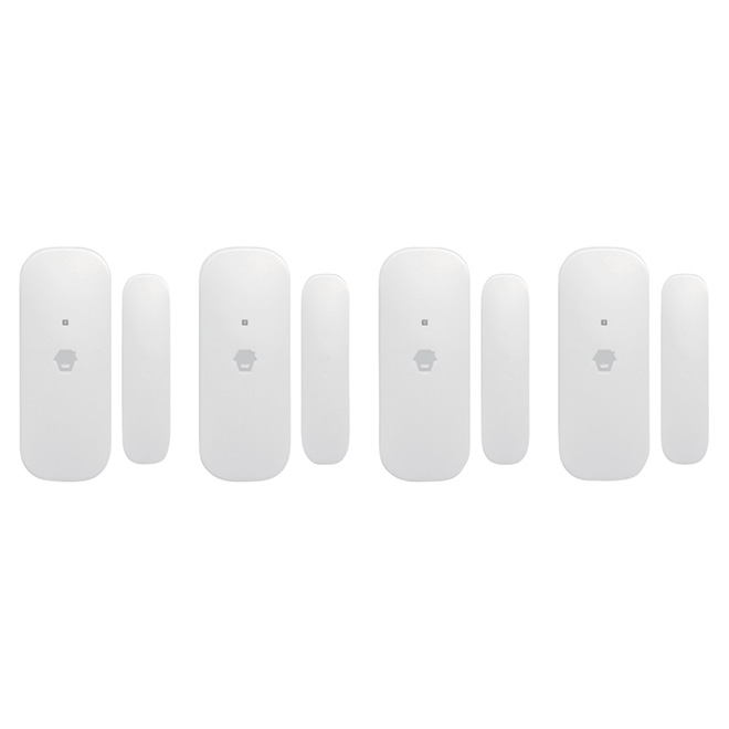 Alarm Contact - Door/Window - Wireless - 4-Pack