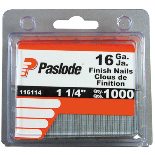 "Finishing Nails - Strip - 16GA - 1 1/4"" - 1000/Box"