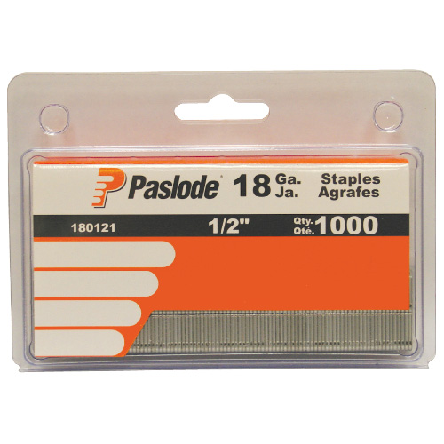 "Galvanized Staples - 18GA - 1/2"" - 1000 Pack"