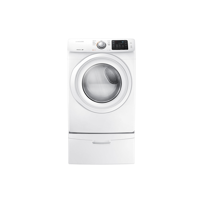 "27"" Electric Dryer - 7.5 cu. ft. - Neat White"