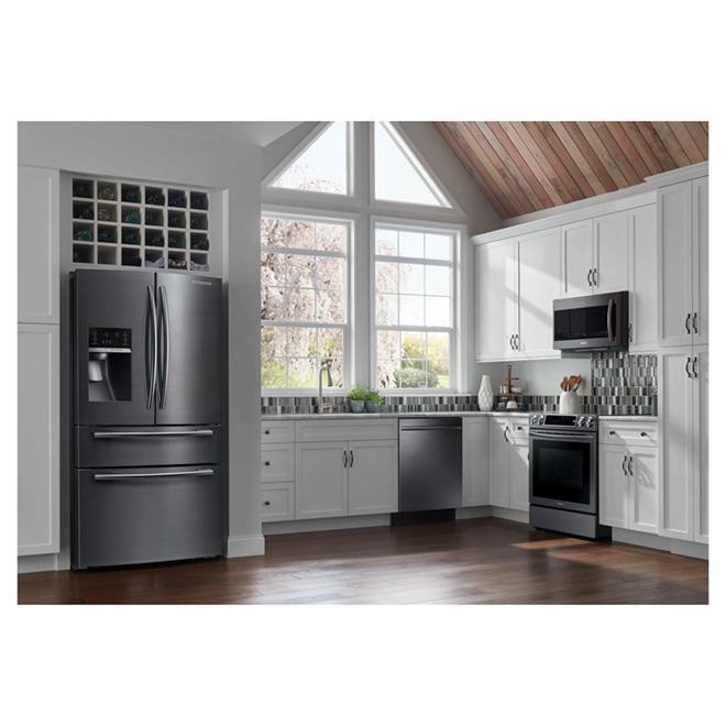 lave vaisselle encastr 24 avec stormwash mc acier noir. Black Bedroom Furniture Sets. Home Design Ideas