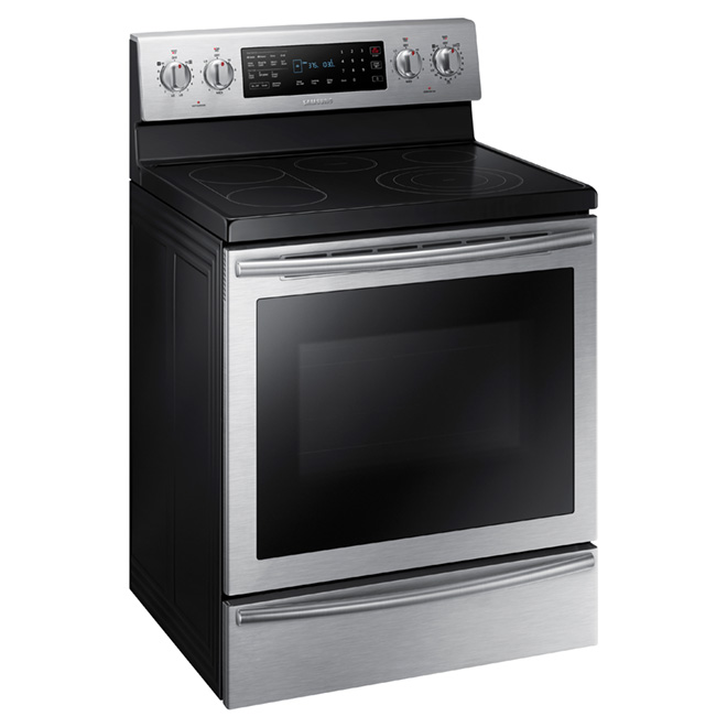 Freestanding Electric Range - 5.9 cu. ft. - Stainless Steel