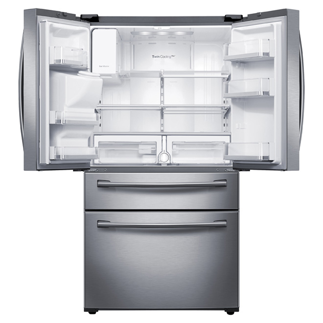 French Doors Refrigerator 28.15 cu. ft. - Stainless