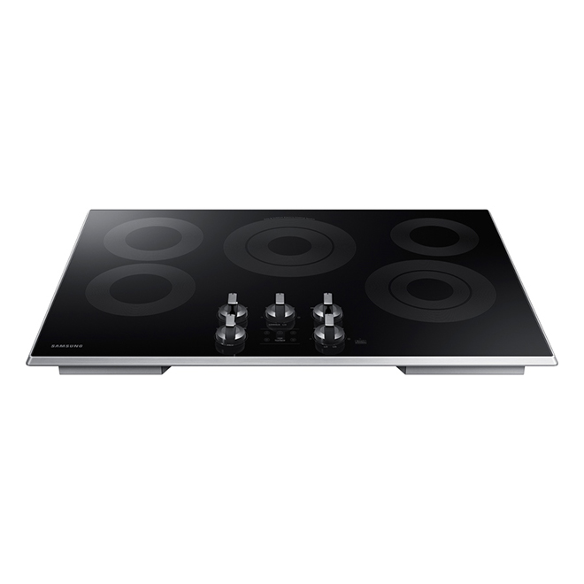 "30"" Electric Built-in Cooktop - Black"