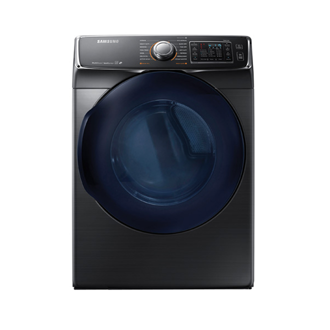 Electric Dryer with MultiSteam™ - 7.5 cu. ft. - Black Steel