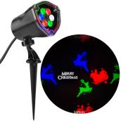 Stake Light Projector - LED - Reindeer - Multicolor