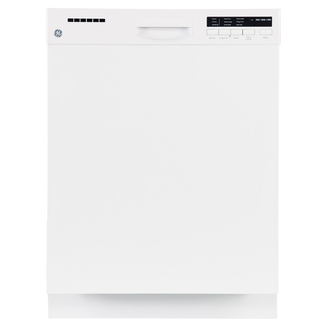 "24"" Built-in Steel Tall Tub Dishwasher - White"