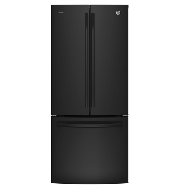 "French Door Refrigerator - 30"" - 20.8 cu. ft. - Black"