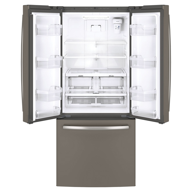 "French Door Refrigerator - 30"" - 20.8 cu. ft. - Slate"