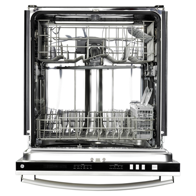 "24"" Built-in Steel Tub Dishwasher - Stainless"