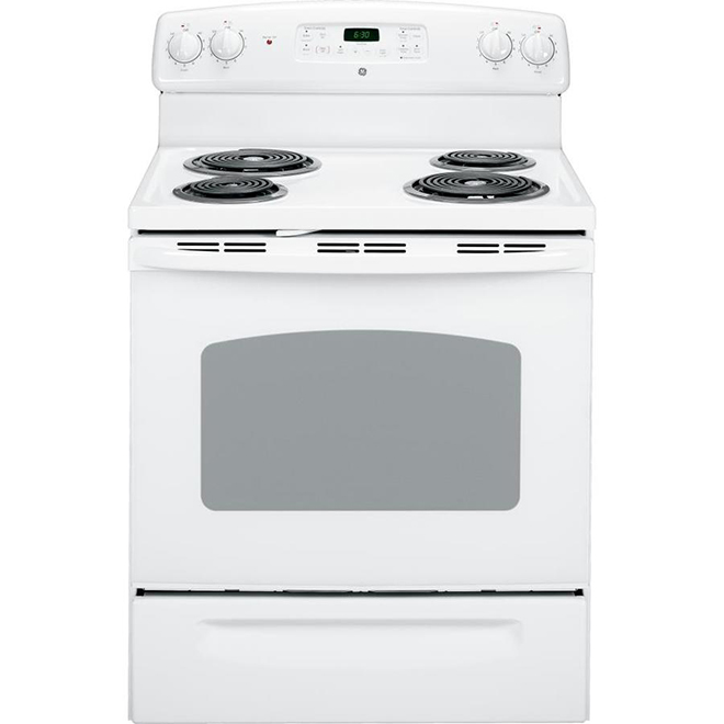 Freestanding Electric Range - 5 cu. ft. - White