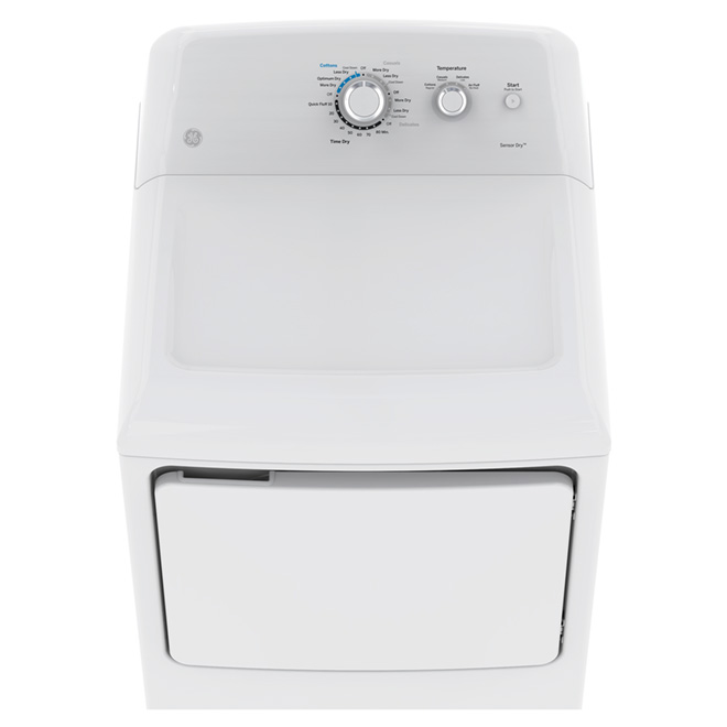 Top Load Dryer with DuraDrum2 - 7.2 cu.ft. - White