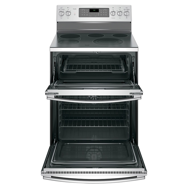 Electric Convection Range - Double Oven - 6.6 cu. ft.