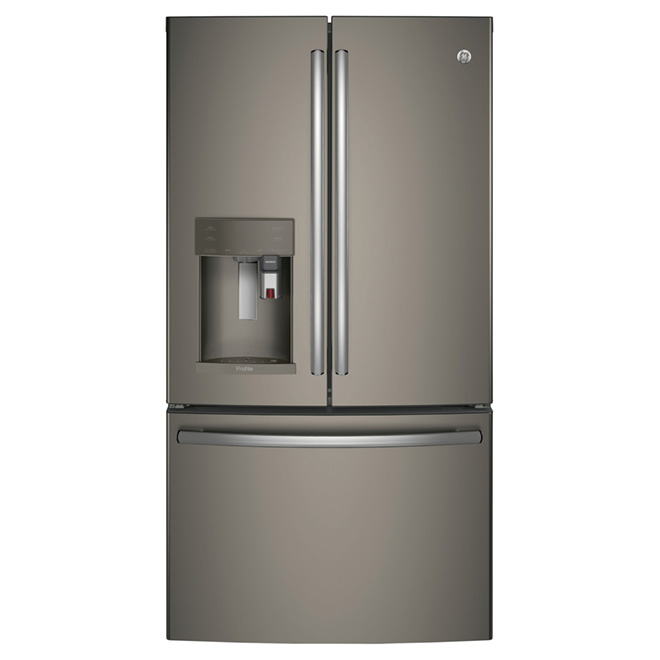 "French Door Refrigerator - 36"" - 27.7 cu. ft. - Slate"