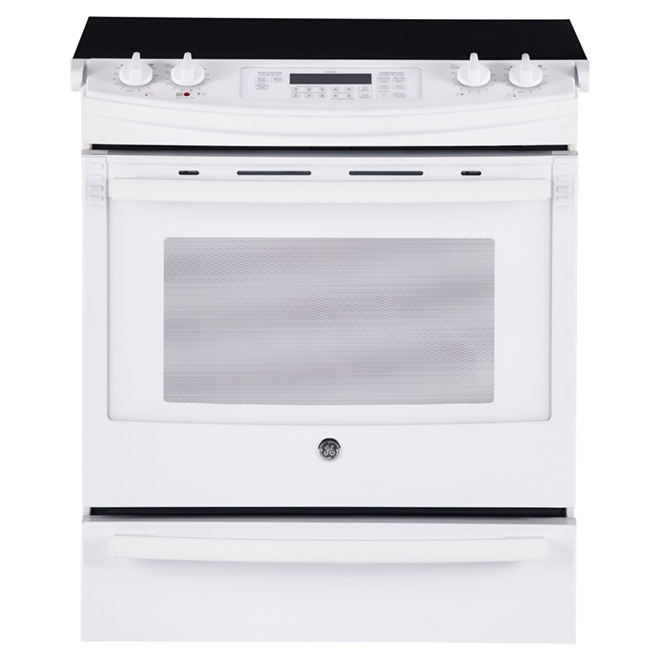 Slide-in Electric Range - 5.2 cu. ft. - White