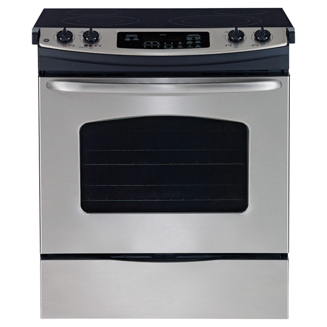 Slide-in Electric Range - 5.2 cu. ft. - Stainless Steel