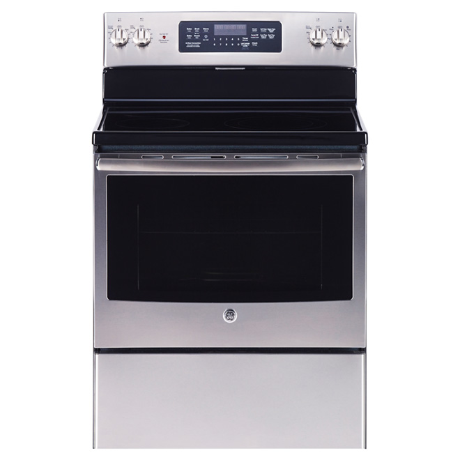 Electric Convection Range - 5 cu. ft. - Stainless Steel