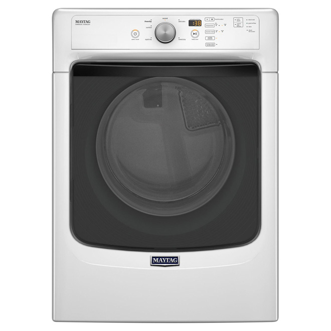 Electric Dryer - 7.4 cu. ft. - White