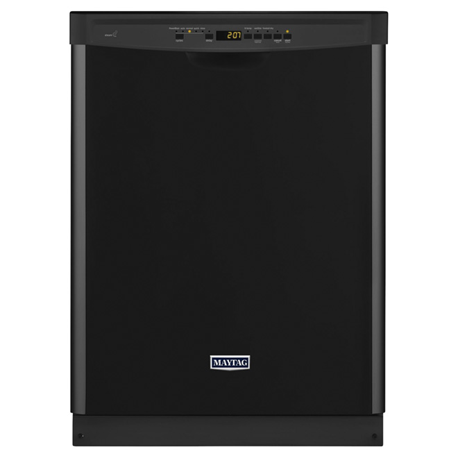"24"" High Capacity Dishwasher With Chopper - Black"