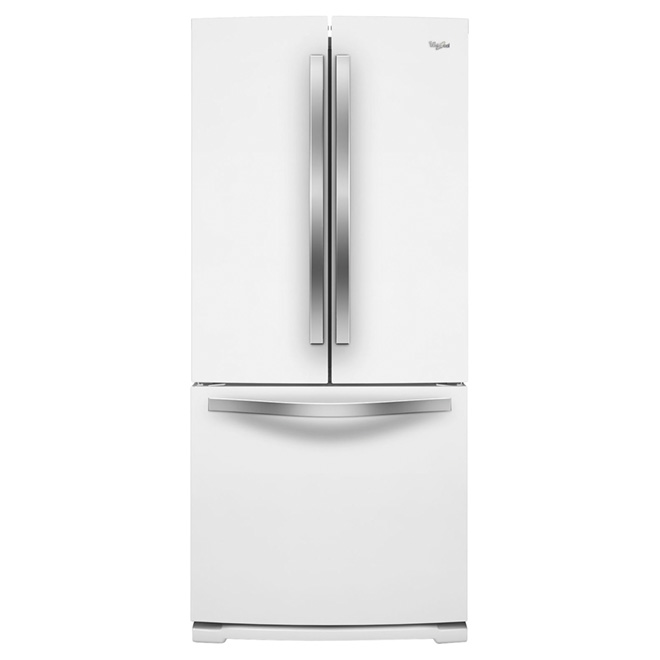 "French Door Refrigerator - 30"" - 19.7 cu. ft. - White"