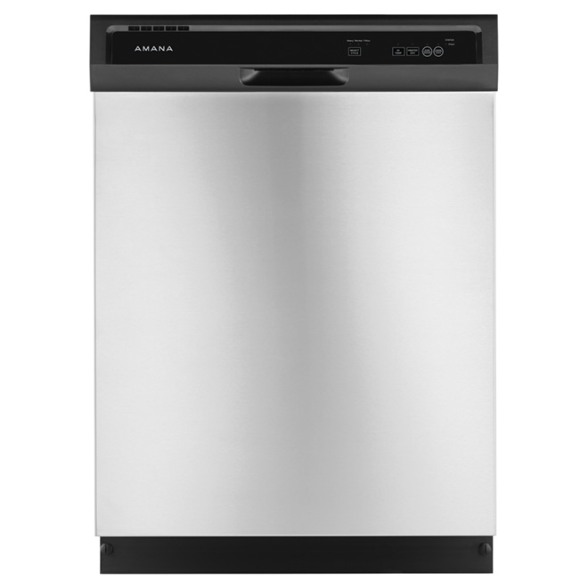 "24"" Dishwasher with Triple Filter Wash System - Stainless"