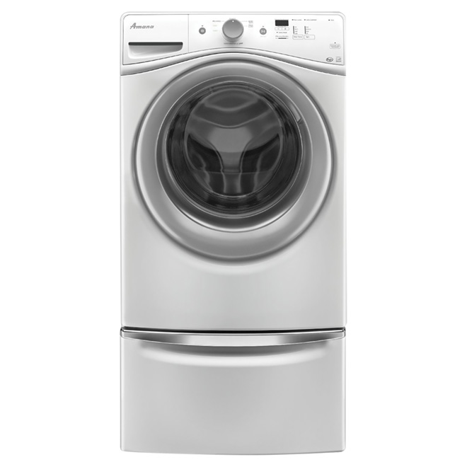 "Front-Load Washer 27"" - 4,8 sq. ft. - White"