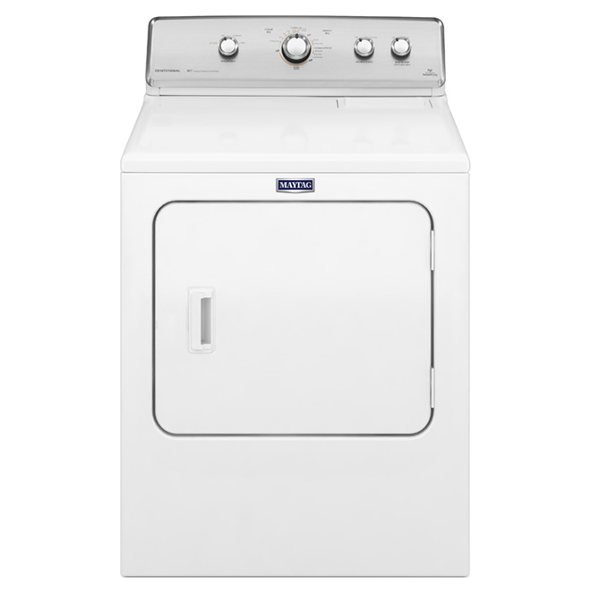 "29"" Electric Dryer with IntelliDry(R) - 7.0 cu. ft. - White"