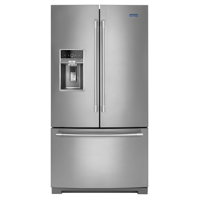Refrigerator with DualCool® Evaporator-27 cu. ft. -Stainless