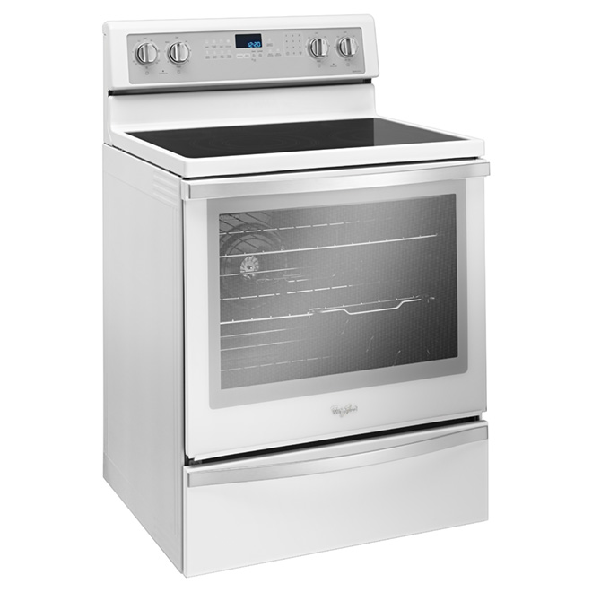 Freestanding Electric Range - 6.4 cu. ft. - White