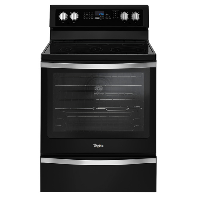 Freestanding Electric Range - 6.4 cu. ft. - Black