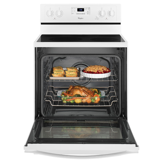 Electric Convection Range - 6.4 cu. ft. - White