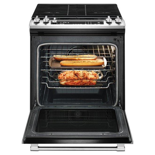 Slide-In Convection Gas Range - 5.8 cu.ft. - Stainless Steel