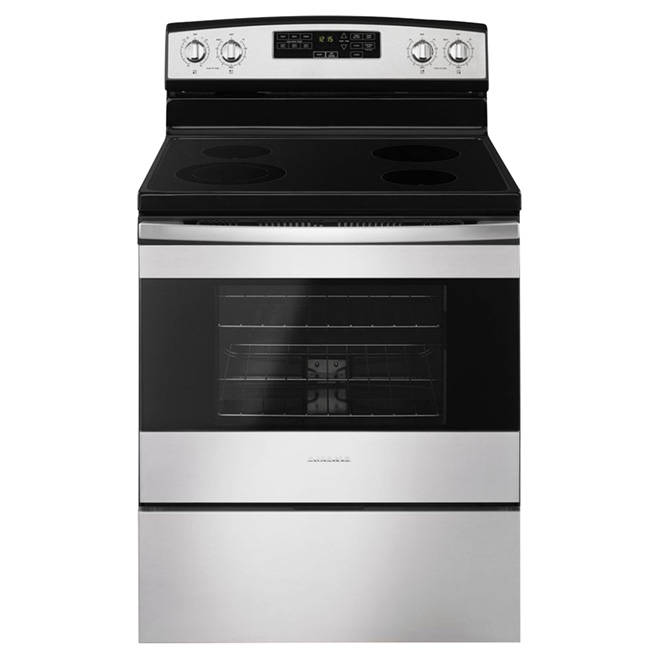 "Freestanding Electric Range 30"" - Stainless Steel"