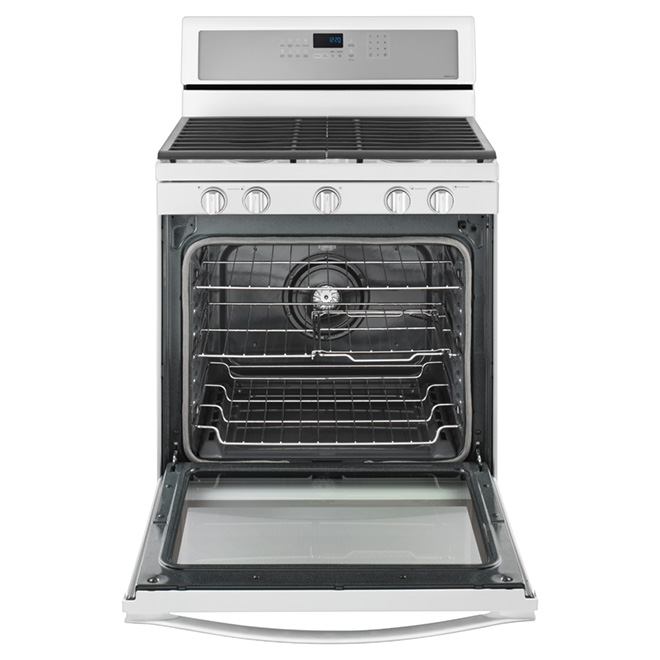 Freestanding Gas Range - 5.8 cu. ft. - White Ice