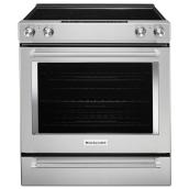 Electric Range with Even-Heat(TM) -30'' -6.4 cu. ft. -Stainless