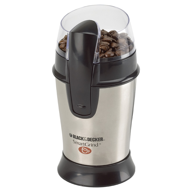 Coffee Bean Grinder - Smartgrind - Stainless Steel - 1/2 Cup