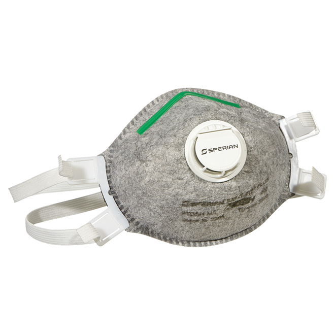 Disposable Respirator with Exhalation Valve